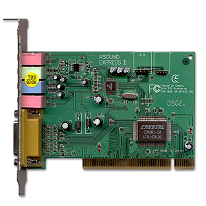 Crystal cs4281 cm ep sound card