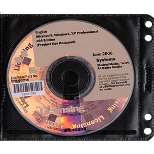 Windows XP Professional Edition 64 Bit X64 Edition