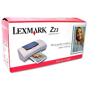 Z23 LEXMARK Z33 DRIVER TÉLÉCHARGER